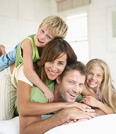 Family With An NRAS Mortgage